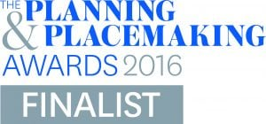 Planning and placemaking finalist logo